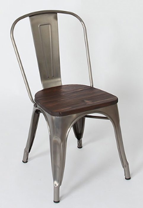 Expressionsmetis Chairs Metal Wood Dining Tolix Style