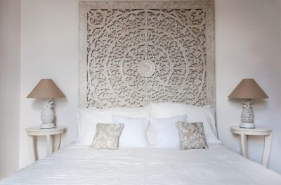 Expressionsmetis Headboard Bed Wood Carving Sculpted Bedroom