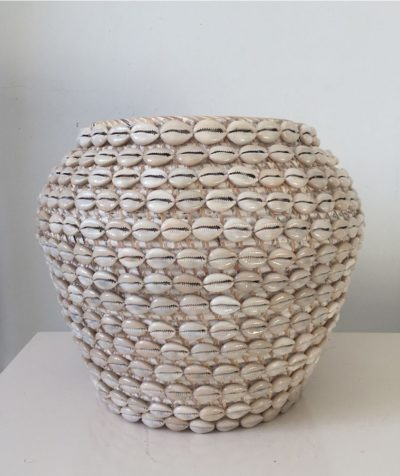 Expressionsmetis Home Decoration Shell Natural Rattan Pot