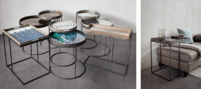 Expressionsmetis Metal Tray Table Furniture