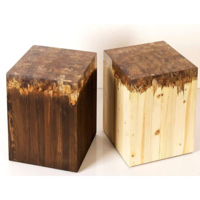 Expressionsmetis Resin Wood Cube