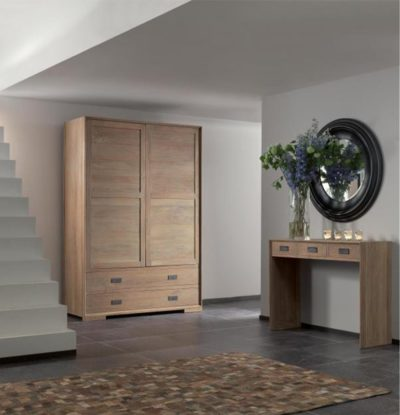 Expressionsmetis Teak Wood Storage Cabinet Living Room Furniture1