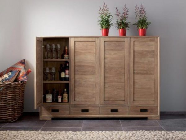 Expressionsmetis Wood Storage Cabinet Doors Furniture