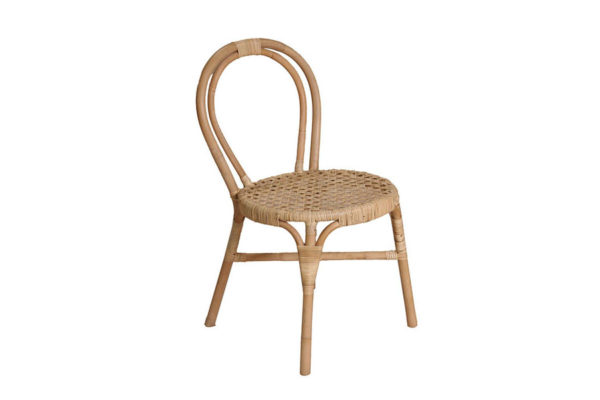 Expressionsmetis Furniture Dining Room Natural Rattan Chicken Eye Weaving Chair Boho Chic