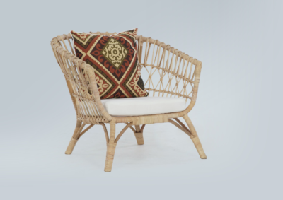 Expressionsmetis Furniture Home Decor Natural Rattan Lounge Chair