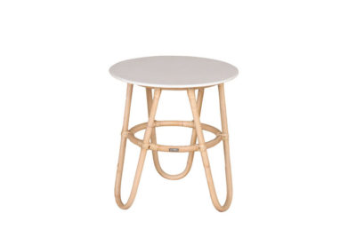 Expressionsmetis Furniture Natural Rattan Round Side Table