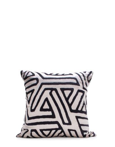 Expressionsmetis Home Decor Decorative Black White Design Phoenix Cushion Cover 55x55