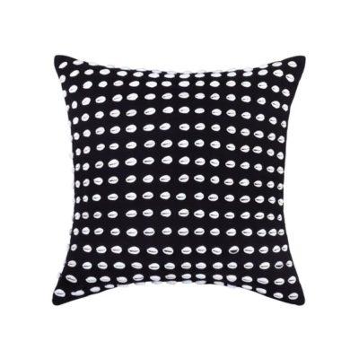 Expressionsmetis Home Decor Decorative Sea Shells Black Masai 55 X 55 Cm Cushion Cover
