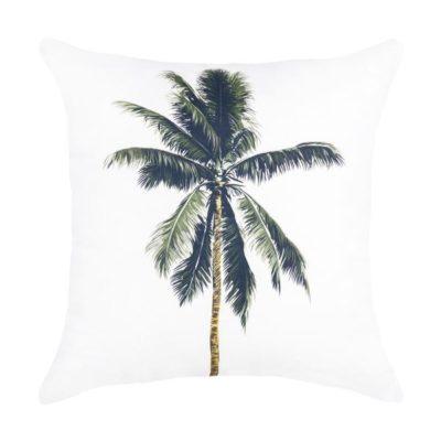 Expressionsmetis Home Decor Decorative White Coconut Tree Cushion Cover