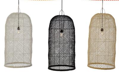 Expressionsmetis Home Decor Furniture Lighting Rattan Pendant Ceiling Lamp Shade Hanging Light Arc16