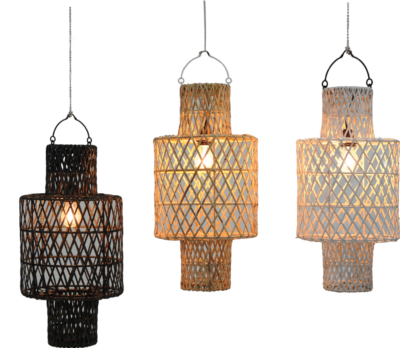 Expressionsmetis Home Decor Furniture Lighting Rattan Pendant Ceiling Lamp Shade Hanging Light Arc19