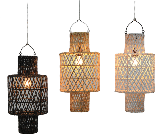Expressionsmetis Home Decor Furniture Lighting Rattan Pendant Ceiling Lamp Shade Hanging Light Arc19