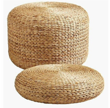 Expressionsmetis Home Decor Furniture Natural Material Pouf Seagrass