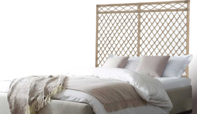 Expressionsmetis Home Decor Furniture Natural Rattan Bed Room Head Board