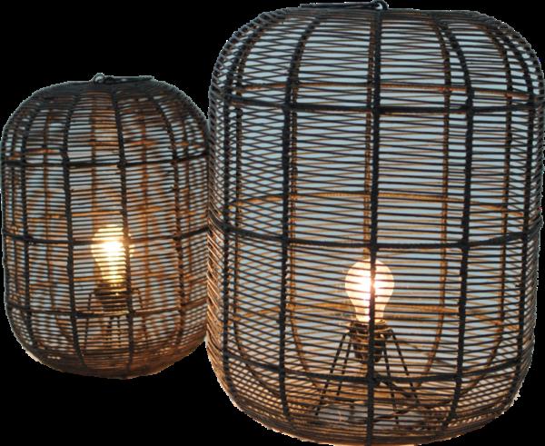 Expressionsmetis Home Decor Lighting Natural Rattan Lamp Shade Floor Table Lamp