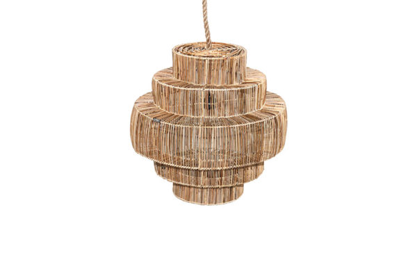 Expressionsmetis Home Decor Natural Rattan Ceiling Light Hanging Pendant Shade
