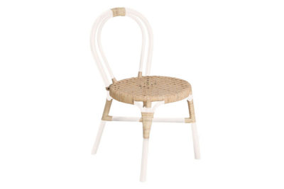 Expressionsmetis Home Decor Products Furniture Dining Room Natural Rattan Wasabi Chair White Natural