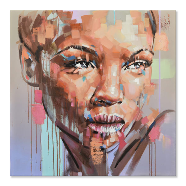 Expressionsmetis Home Decor Wall Art Face Abstract Portrait Painting1