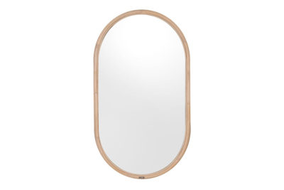 Expressionsmetis Home Decor Wall Decoration Oval Natural Rattan Mirror Frame