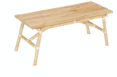 Expressionsmetis Natural Rattan Raft Bench Furniture 100x40x43 Ottoman