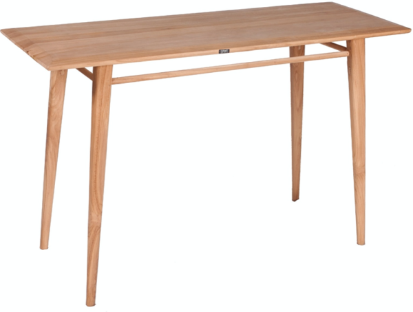 Expressionsmetis Natural Teak Wood Console Table 120x45x75