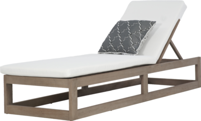 Expressionsmetis Outdoor Furniture Teak Wood Sun Lounger Day Bed