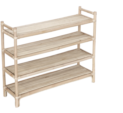 Expressionsmetis Rattan Furniture Shoe All Purpose Open Rack
