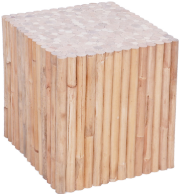 Expressionsmetis Square Side Table Natural Rattan Stax Cube Furniture
